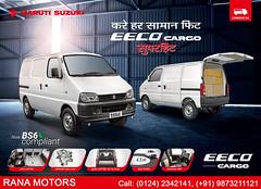 Maruti Suzuki Eeco Cargo (ranamotors) Tags: marutisuzuki eecocargo commercial ranamotors gurugram