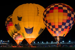night bloom (pbo31) Tags: napalightedartfestival napa bayarea napacounty art night dark january 2020 boury pbo31 nikon d810 winter california color lightstream motion hotairballoon illuminated bloom orange
