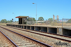 Islington Works Railway Station (baytram366) Tags: railway islington abandoned station train closed south australian trains national adelaide railways demolished sar workshops stations lines by buildings close hill platform tracks passengers signals passenger shelter railcars damian depictions camera photography