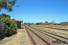 Islington Works Railway Station (baytram366) Tags: islington railway station south australian railways adelaide trains sar national workshops demolished closed abandoned train stations lines signals shelter platform buildings close tracks railcars passenger passengers damian hill depictions by camera photography