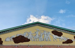 A Soviet-era mural in Moscow (Strunkin) Tags: sovietera mural moscow ussr russia