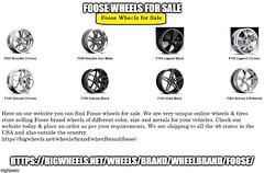 Foose Wheels for Sale (bigwheels580) Tags: foose wheels for sale