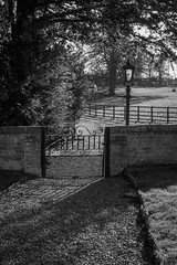 Photo of Gate from Church of St Lawrence Diddington