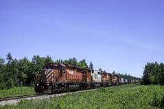 Summer Detour (ac1756) Tags: cp canadianpacific cprail 503 caffey michigan emd sd402 5961 wisconsincentral wc soo sooline