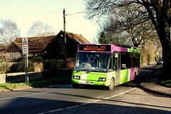 Brantham  Shuttle at Stutton (Chris Baines) Tags: ipswich buses optare solo yn04 lwk stutton 92s shuttle service