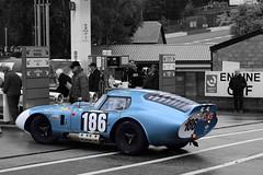 186 SHELBY Cobra Daytona (Jürgen Senz) Tags: sportwagen sportscar spafrancorchamps spa speed blau blue classic car classiccar shelby cobra daytona spa6h 6h gte gt colorkey imsa wec aco