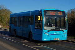 Photo of Airport Escapee: Arriva Harlow (ex Tower Transit DM44270) ADL Enviro200 YX61FZN (4008) Stansted Road Stansted Mountfitchet 20/01/20
