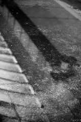 Riflessi e trasparenze (Arsumigli a.k.a. Papi) Tags: lebole factory arezzo tuscany riflessi trasparenze bn bw black white bianco nero urbex ue decay abandoned forgottenplaces underground street nikon d90 afsnikkor50mm118g arsumigliakapapi