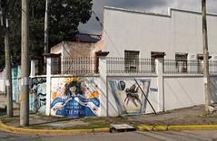 San Pedro Sula: Plaza de la Cultura (zug55) Tags: sanpedrosula honduras plazadelacultura casadelacultura amílcargómezrobelo institutojosétrinidadreyes modernism artdeco mural murals murales