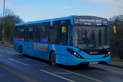 Photo of Surrey Ties: Arriva Harlow ADL Enviro200MMC SN67WUA (4113) Stansted Road Stansted Mountfitchet 20/01/20