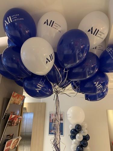 Heliumballonnen Bedrukt Novotel Brainpark Rotterdam