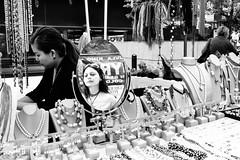 Look at Me (a.garg76) Tags: ankur garg photography reflection mirror street candid newyork manhattan shopping