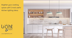 || Brighten your cooking space with 5 most useful kitchen lighting ideas || (lightdoctor.com) Tags: lighting ledlighting lightingfixtures kitchen kitchenlighting