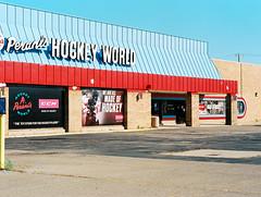 149673RLma011008-R1-006 (elsuperbob) Tags: livonia michigan emptyspaces parkinglots store newtopographics forgotten detroit suburbia mamiyam645 kodak ektar100 kodakektar