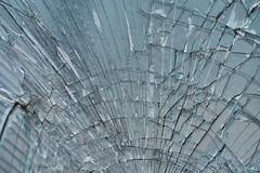 Broken glass. (alexiawatts10) Tags: random brokenglass patterns textures