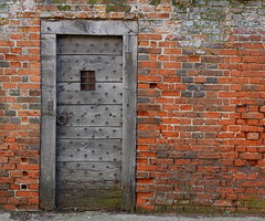 A Backdoor in Beccles (Grooover) Tags: wall door gate red brick beccles suffolk grooover