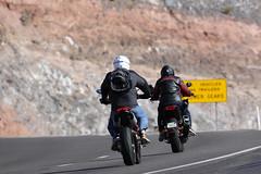 Entering the Verde Valley (twm1340) Tags: motorcycle rider riders biker bikers interstate highway az arizona
