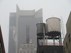 2020 First January Snow Storm - Hells Kitchen Clinton 4570 (Brechtbug) Tags: 2020 mini snow storm hells kitchen clinton near times square broadway nyc 01182020 new york city midtown manhattan snowing storms snowstorm winter weather building fog like foggy january 18th pre birthday hell s nemo southern view