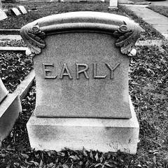 Early (rustman) Tags: atx blackandwhite bnw bw capitolcity cemetery centraltexas community december downtown fall foggy monochrome morning photostroll photowalk stroll sunny texaslife