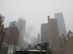 2020 First January Snow Storm - Hells Kitchen Clinton 4560 (Brechtbug) Tags: 2020 mini snow storm hells kitchen clinton near times square broadway nyc 01182020 new york city midtown manhattan snowing storms snowstorm winter weather building fog like foggy january 18th pre birthday hell s nemo southern view