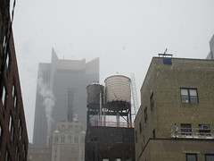 2020 First January Snow Storm - Hells Kitchen Clinton 4555 (Brechtbug) Tags: snow mini 2020 new york city nyc storm kitchen square near clinton broadway midtown times hells 01182020 birthday winter building weather fog manhattan hell snowstorm january foggy like 18th pre snowing storms nemo view s southern