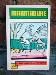 Marmaduke (The Moog Image Dump) Tags: marmaduke brad anderson phil leeming scholastic book services 1970 paperback comics humour dog
