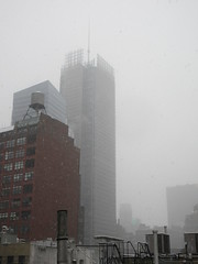 2020 First January Snow Storm - Hells Kitchen Clinton 4547 (Brechtbug) Tags: 2020 mini snow storm hells kitchen clinton near times square broadway nyc 01182020 new york city midtown manhattan snowing storms snowstorm winter weather building fog like foggy january 18th pre birthday hell s nemo southern view