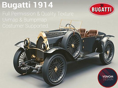Bugatti 1914 Old Car | Model Full Perm (venom.design32) Tags: bugatti bugatti1914 oldcar classiccar araba car drive driving fullperm fullpermission uvmap bumpmap texture object second secondlife secondlifesevenler sl