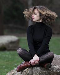 Mayliss (click100) Tags: portrait portraiture eyes beautiful beauty french lady photography photoshoot sexy shalow dof