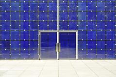 München (bayernphoto) Tags: herz jesu kirche modern neuhausen blau blue glas reflex reflection tuer door church quadrat quadrate grafisch graphic design linien lines münchen munich bayern bavaria weiss weissblau