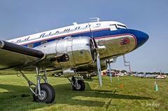 Douglas DC3 N25641 'Legend Airways' (1943) 1b (OSH) (edit) (MO FunGuy) Tags: oshkosh airshow wisconsin airplane warbird