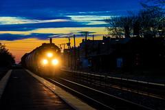 Anno Domini 2020 (BravoDelta1999) Tags: unionpacific up railroad chicagoandnorthwestern cnw railway harvardsubdivision metra metx northwestline upnw norwoodpark chicago illinois emd gp402 1430 yno68 manifest train
