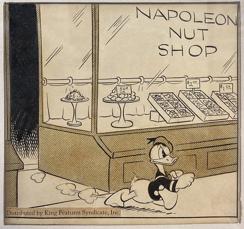 Donald Duck Daily Cartoon