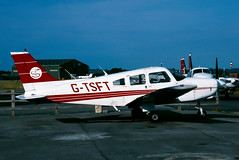 G-TSFT (Martyn Cartledge / www.aspphotography.net) Tags: aero aeroplane air aircraft airfield airline airliner airplane airport aviation civil flight fly flying jet originalslide originaltransparency plane scan transport wings wwwaspphotographynet asp photography