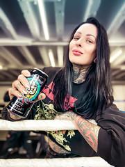 Motörhead Overkill Beer vs. Femke Fatale (THE PIXELEYE // Dirk Behlau) Tags: dirkbehlau pixeleye femkefatale motörhead beer overkillbeer