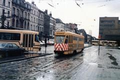 STIB 1-26-03-1986--4144 (phi5104) Tags: trams stib mivb belgië belgique bruxelles brussel