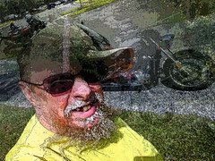 Tooth Less (Zoom Lens) Tags: the1312chronicles bikerlife biker selfie selfportrait abstract surreal bolhemus