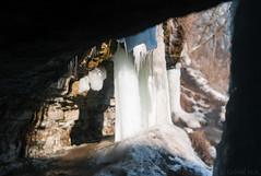 Minnehaha Falls (Gabriel M.A.) Tags: leica m8 rangefinder manualfocus 50mm f12 canon dream ltm canon50mmf12ltm minneapolis minnesota minnehahafalls frozen ice
