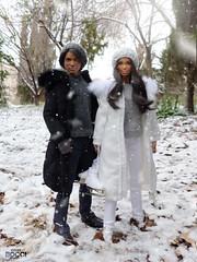 Snow day (davidbocci.es/refugiorosa) Tags: alma barbie mattel fashion doll muñeca refugio rosa david bocci ooak snow