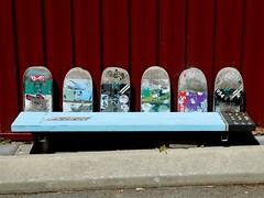 Skater bench (sander_sloots) Tags: bench bank skateboard perth maylands mount lawley planken boards dctz90 monday happy panasonic australia