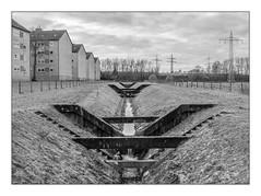 Die Stadt 405 (sw188) Tags: deutschland ruhrgebiet westfalen nrw dortmund rahm sw stadtlandschaft street bw blackandwhite