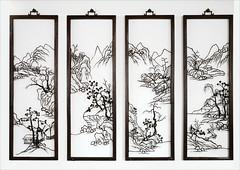 Peintures de fer (Musée national des arts asiatiques Guimet, Paris)
