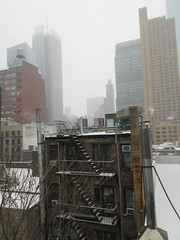 2020 First January Snow Storm - Hells Kitchen Clinton 4571 (Brechtbug) Tags: 2020 mini snow storm hells kitchen clinton near times square broadway nyc 01182020 new york city midtown manhattan snowing storms snowstorm winter weather building fog like foggy january 18th pre birthday hell s nemo southern view
