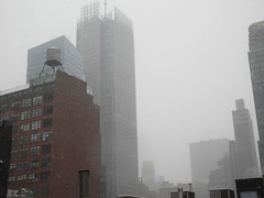 2020 First January Snow Storm - Hells Kitchen Clinton 4557 (Brechtbug) Tags: 2020 mini snow storm hells kitchen clinton near times square broadway nyc 01182020 new york city midtown manhattan snowing storms snowstorm winter weather building fog like foggy january 18th pre birthday hell s nemo southern view