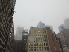 2020 First January Snow Storm - Hells Kitchen Clinton 4554 (Brechtbug) Tags: 2020 mini snow storm hells kitchen clinton near times square broadway nyc 01182020 new york city midtown manhattan snowing storms snowstorm winter weather building fog like foggy january 18th pre birthday hell s nemo southern view