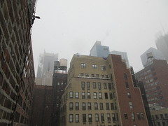 2020 First January Snow Storm - Hells Kitchen Clinton 4553 (Brechtbug) Tags: 2020 mini snow storm hells kitchen clinton near times square broadway nyc 01182020 new york city midtown manhattan snowing storms snowstorm winter weather building fog like foggy january 18th pre birthday hell s nemo southern view