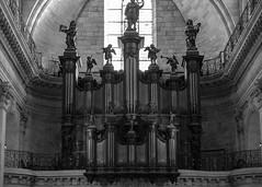 DSCF4495 (LexomIA) Tags: bordeaux organ orgue street urbain bw nb streetphotography