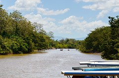 Frio River in the Caño Negro Wildlife Refuge (Frame To Frame - Bob and Jean) Tags: caño negro wildlife refuge costa rica central america birding birds wilderness river wetland wetlands frio outdoors original photographer boats