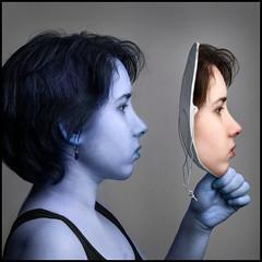 Mask (Rodrick Dale) Tags: mask blue concept