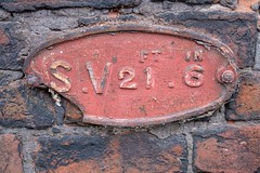 Photo of Sluice Valve Sign